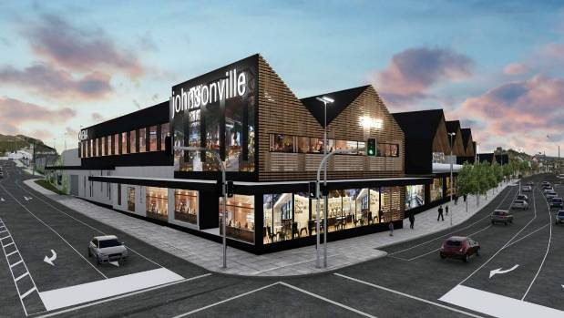 Johnsonville Mall artist impression