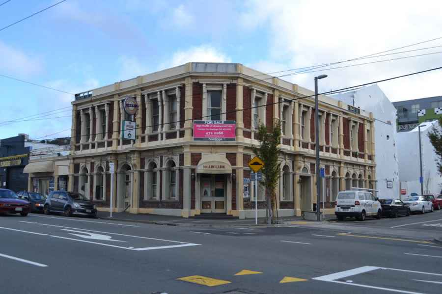Old heritage building in Adelaide Road, formerly the Adelaide pub. Awaiting Transit Oriented Development.