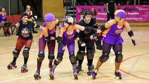 Image of roller derby competitors